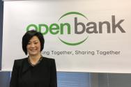 3월 30일 기자회견에서 민 김 행장이 나스닥 상장 소식을 전했다.