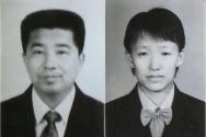 ▲동방번개 창시자 조유산(赵维山·왼쪽)과 현 부인 양향빈(杨向彬).