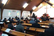 뉴욕교협 45회기 제2차 임실행위원회가 20일 새가나안교회에서 진행되고 있다.