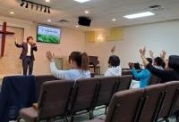 찬양사역자 강찬 목사 초청 찬양집회가 13일, 주성령교회에서 열렸다.