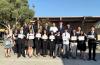 지난 해 세리토스 고등학교에서 열린 모의 유엔 MUN(Model United Nations) 컨퍼런스에 참가한 한미연합회 학생들