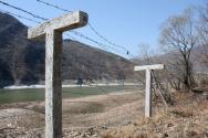 북중 국경 지역의 철조망 모습. ⓒ한국오픈도어
