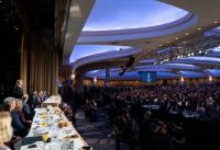 도널드 트럼프 대통령이 지난 6일(현지시간) 미국 워싱턴D.C.에서 열린 '2020 전미 국가조찬기도회'에서 발언하고 있다. ©백악관 공식사진/Joyce N. Boghosia