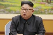 북한 김정은.