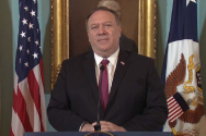마이크 폼페이오 미 국무장관.