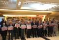한국교회 반동성애 교단연합(가칭, 이하 한반교) 발족모임 참가자들이 기념촬영을 했다.