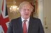 보리스 존슨 영국 총리가 기독교인들에게 감사의 인사를 전하고 있다.