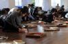 이른비언약교회 성도들이 기도하는 모습. ⓒ이른비언약교회 제공