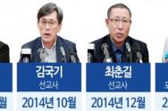 북한에 억류된 김정욱, 김국기, 최춘길 선교사와 탈북민 3인.