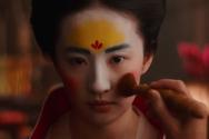 중국 배우 유역비가 출연한 실사 영화 뮬란의 한 장면. ©뮬란 유튜브 영상 캡처