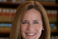 긴즈버그 연방대법관 후임자로 지명된 에이미 코니 배럿 제7연방고등법원 판사.