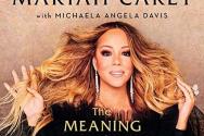 머라이어 캐리의 자서전 '머라이어 캐리의 의미(The Meaning of Mariah Carey)' 표지.