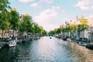 네덜란드 수도 암스테르담 전경. ⓒUnsplash
