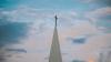 교회 첨탑 이미지