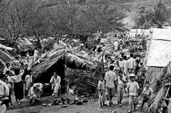 6.25전쟁 당시 피난민들