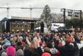 25일 오후 미국 워싱턴 DC 내셔널 몰에서 열린 '렛 어스 워십'예배