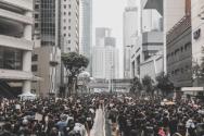 시위에 나선 홍콩 시민들의 모습. ⓒUnsplash