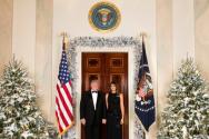 트럼프 대통령 부부 ©백악관(White House)