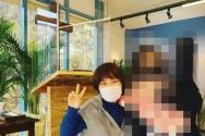 방송인 조혜련 씨가 자신의 인스타그램 계정에 예배를 드린 사진을 올렸다. ©방송인 조혜련 인스타그램