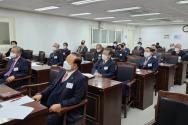 12일 한교총 상임회장회의가 진행되고 있다.