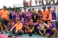 배모 축구 클럽 (Bemo FC Club)의 선수들과 함께 한 오석재 선교사