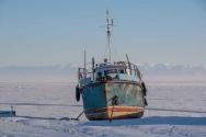 얼어붙은 바이칼 호수. ⓒ픽사베이