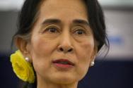 아웅산 수지 미얀마 국가고문