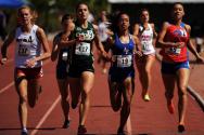 여성 육상선수들