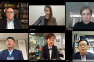 AEI 주관 북한인권토론회가 화상으로 진행되고 있다.