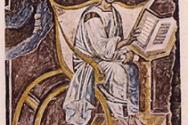 로마의 Lateran church에 있는 지금까지 알려진 가장 초기의 어거스틴의 초상화, 6세기