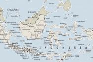 인도네시아 지도. ⓒ위키미디어