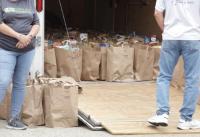 웨슬리연합감리교 에반스 교회 ▲웨슬리연합감리교 에반스교회가 지역사회에 8,100파운드 이상의 식량과 10,000달러 이상의 돈을 기부했다. ⓒ에반스교회