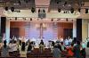 필라지역 한인교회들도 예배를 전면 개방했다. 필라안디옥교회 주일예배 모습.