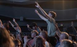 """버지니아 반석교회에서 """"렛 어스 워십(Let Us Worship)"""" 집회가 열리고 있다."""