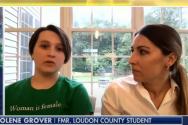 졸린과 그녀의 어머니 나스타시아가 폭스뉴스와 인터뷰를 진행하고 있다. ⓒ폭스뉴스 보도화면 캡쳐