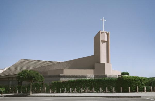 나성영락교회 예배당 전경