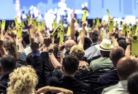 2021년 남침례회 연차총회가 진행되고 있다.