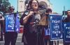 미국의 생명을 위한 학생들(Students for Life of America)이 지난 16일 워싱턴DC에서 '생명과 신앙을 위한 투쟁(Fight for Life & Faith)' 집회를 진행하고 있다.