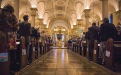 영국성공회 예배 모습. ⓒFacebook/Church of England