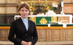 에스토니아 복음주의루터교회 신학연구소 안네 부르하르트 박사.