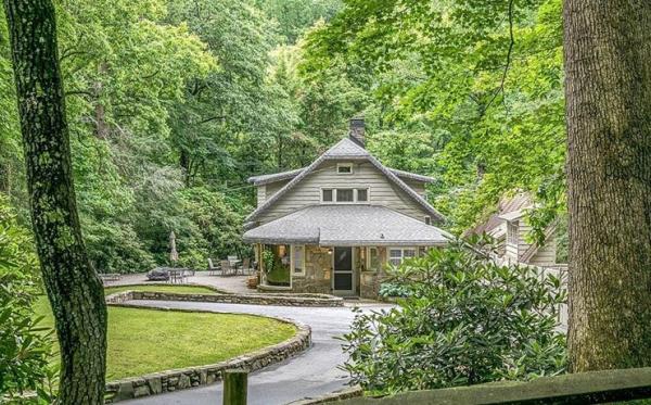 놀스캐롤라이나에 소재한 빌리 그래함 목사의 집