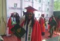 보코하람에 납치됐던 나이지리아 여학생 메리가 학위를 수여받았다. ©오픈도어