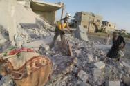폭격 당한 시리아 지역.(본 기사와 직접적인 관련 없음) ©월드비전 제공