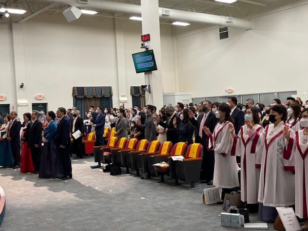 애틀랜타프라미스교회 창립 36주년 기념예배 및 임직식