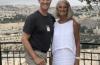 빌리 그래함 목사의 딸인 앤 그래함 로츠 여사(우)와 아들 조나단 로츠. ©앤 그래함 로츠 인스타그램