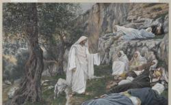 프랑스 화가 제임스 티소(James Tissot)의 '예수께서 제자들에게 휴식을 명하시다(Jesus Commands the Apostles to Rest)'. ⓒ브루클린 박물관