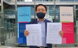 해당 시골 교회들의 소송을 돕고 있는 예자연 김영길 사무총장.