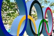 올림픽 오륜 조형물
