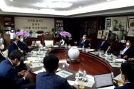 한교총은 9일 '미래발전위원회'와, 실무 협상을 책임질 '기관통합준비위원회'를 구성했다. ⓒ한교총 제공