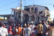 아이티에 진도 7이상의 강진이 2010년에 이어 또 다시 닥쳤다